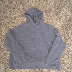 Nike Grey Training Hoodie